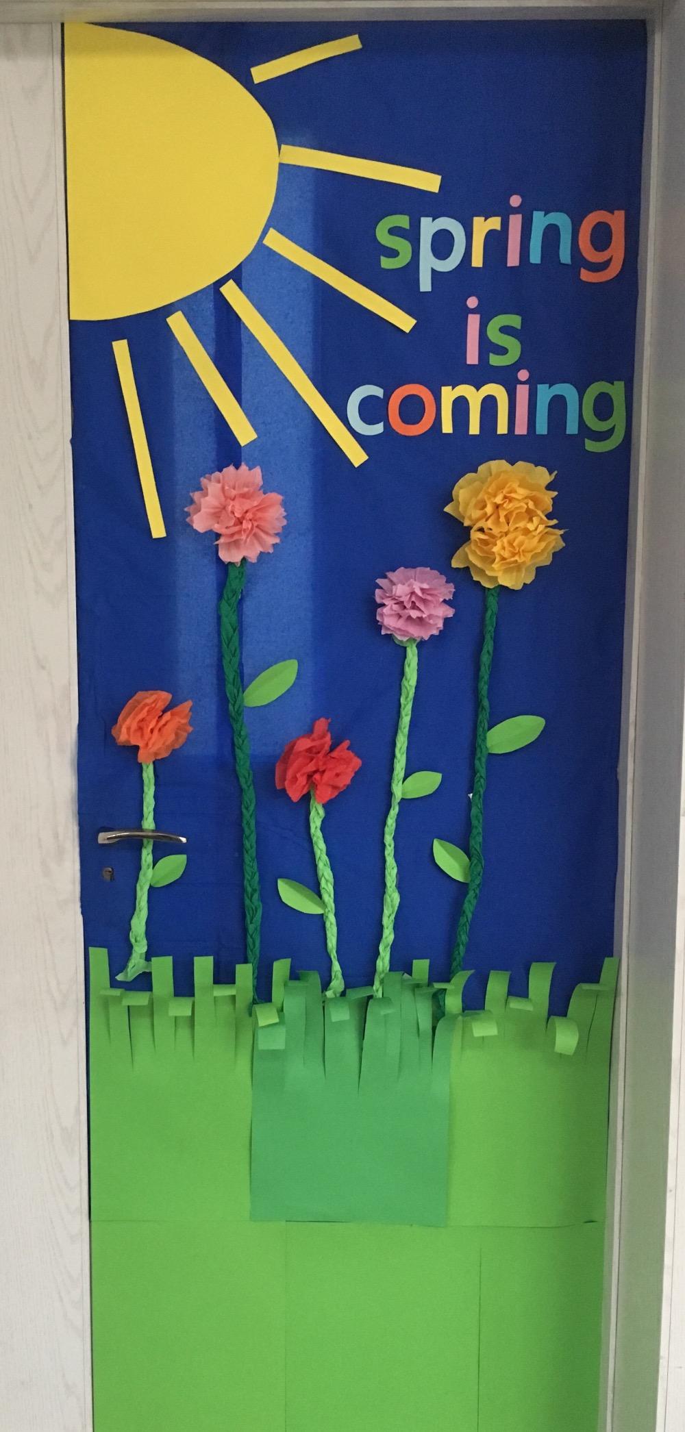 班级门装饰__幼儿园门窗环境创设_幼儿园环境创设——