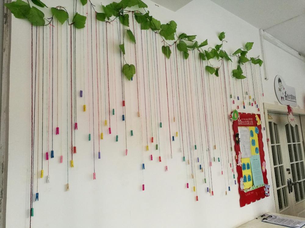 幼兒園環境創設走廊的吊飾——師樂匯幼兒教師教育網