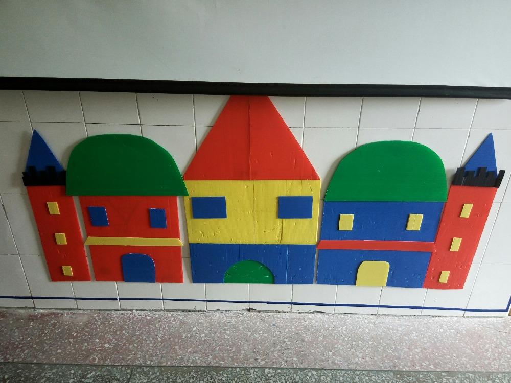 幼儿园活动区建筑区环境创设建构区——师乐汇幼儿图片