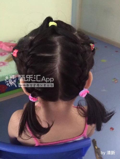 幼儿园室内游戏女孩发型——师乐汇幼儿教师教育网
