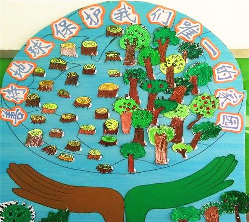 幼儿园地球日主题活动方案:善待地球,从简单生活做起