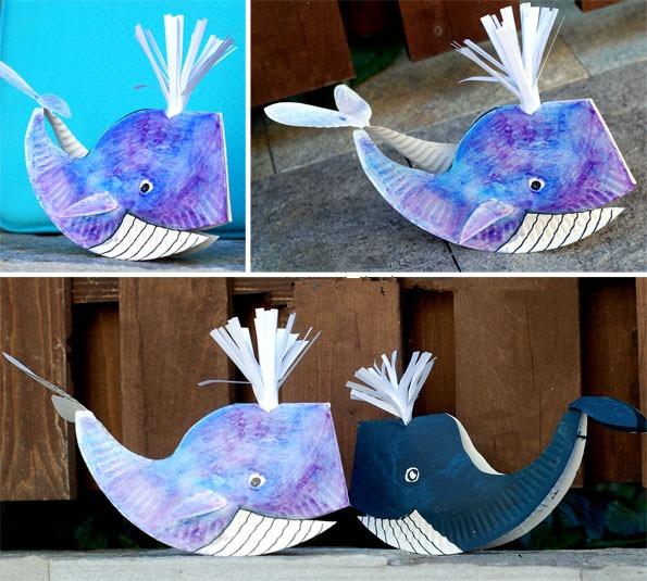 手工diy:海洋里的动物-鲸鱼
