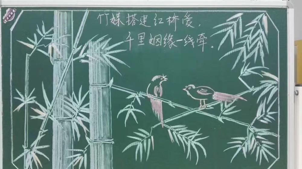 幼儿园简笔画绘画粉笔画——师乐汇幼儿教师教育网