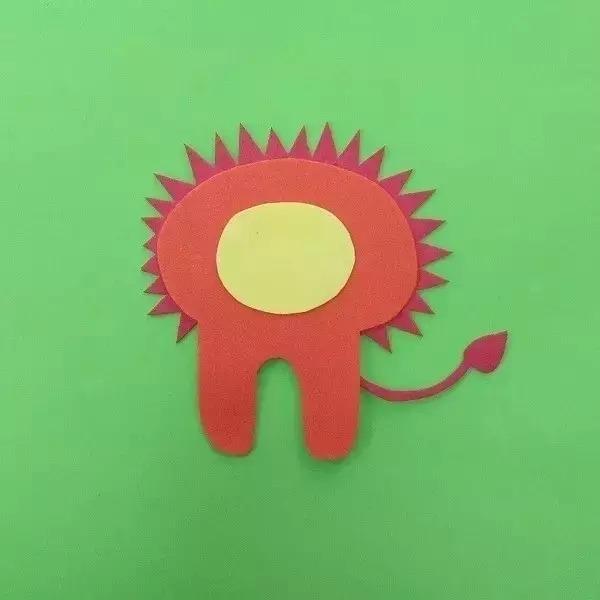 海绵纸狮子