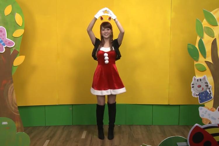 圣誕節律動舞蹈:圣誕節快樂
