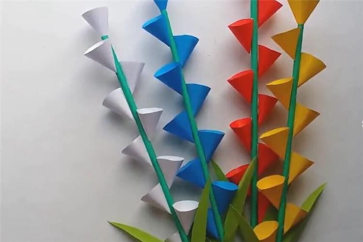 手工DIY:如何制作漂亮的紙花棒