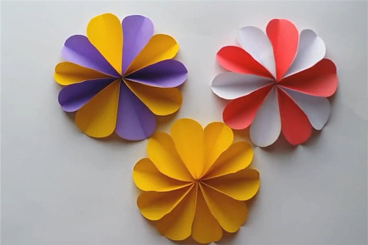 DIY:教你制作簡單的紙花