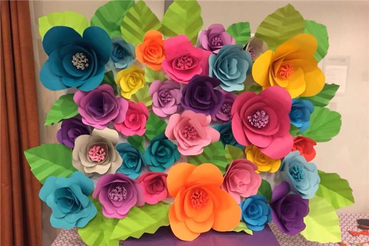 手工DIY:如何制作一面花墻