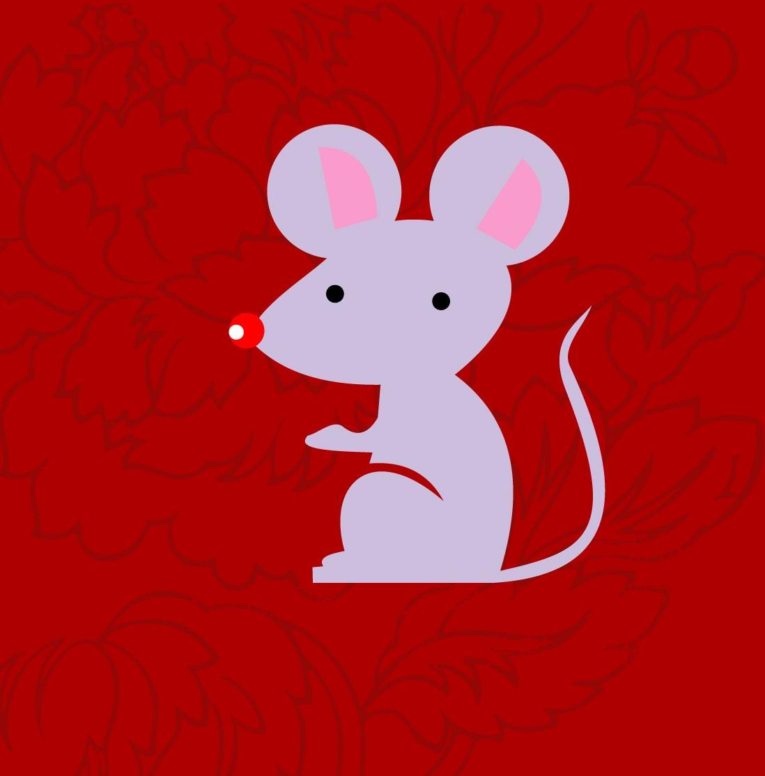 幼儿园新年图片:可爱的小老鼠13 分享到:     图片