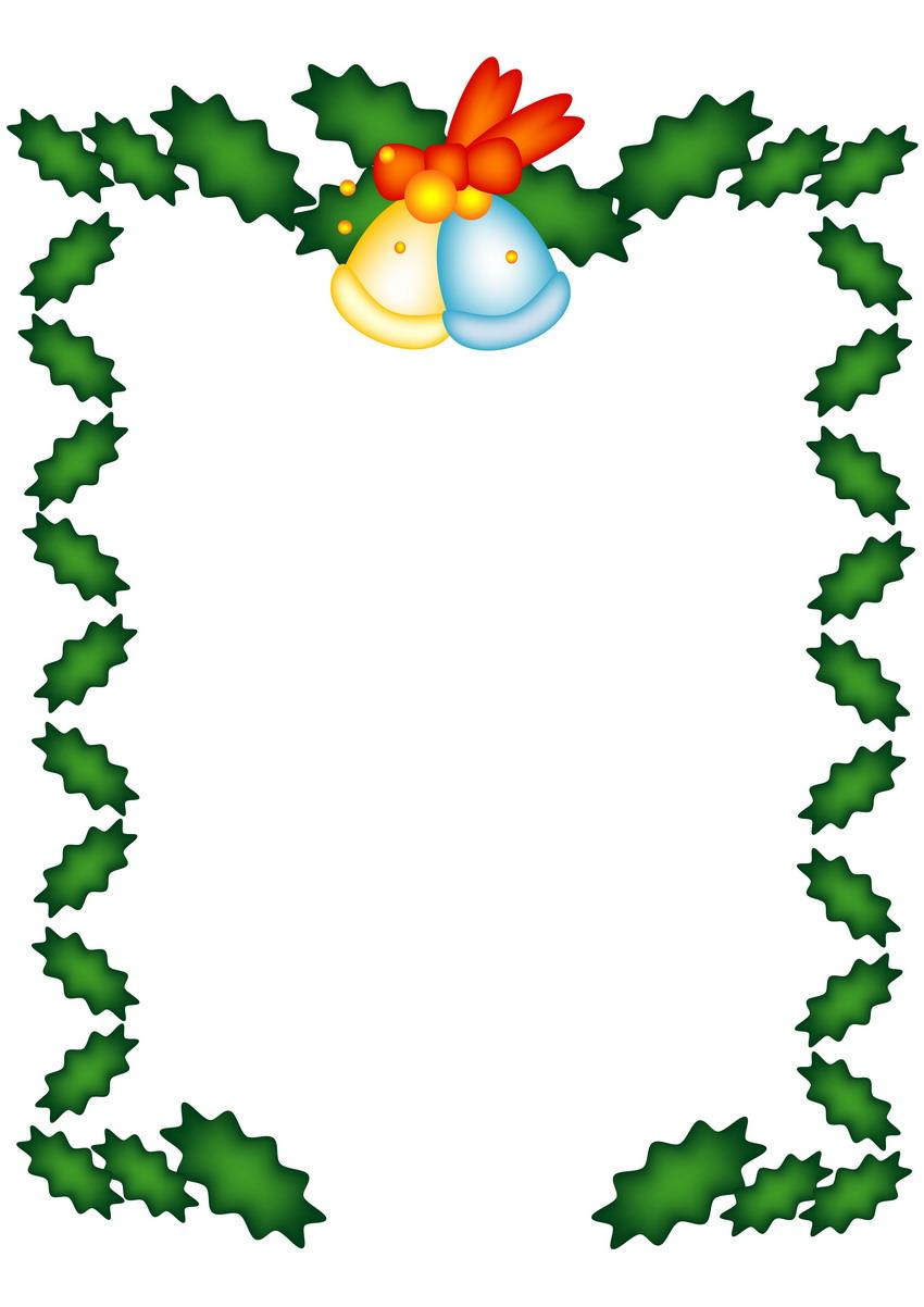 节日边框5:圣诞节