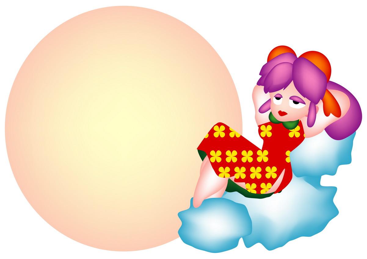 节日边框12:中秋节