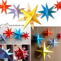 纸工-星星
