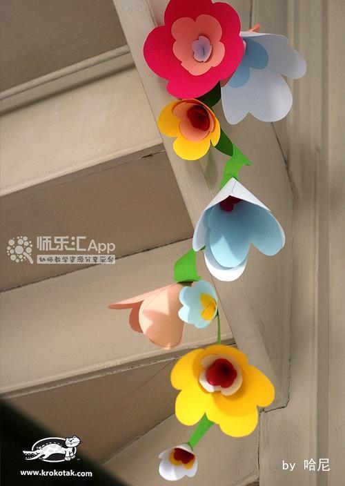 春天的花朵装饰