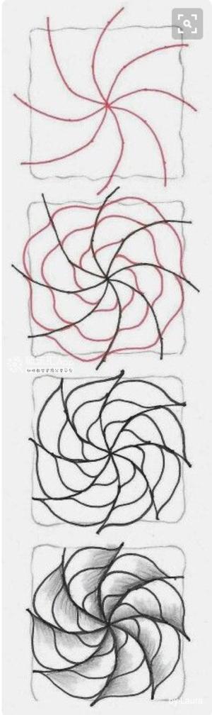 另类的线条绘画,强迫