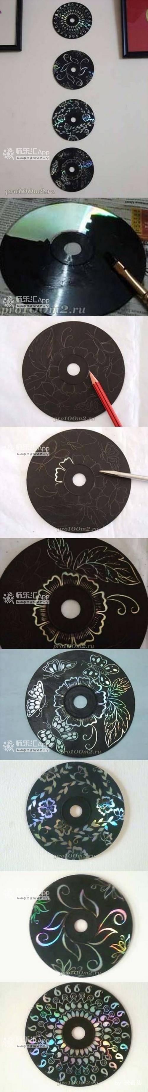 废物光碟利用