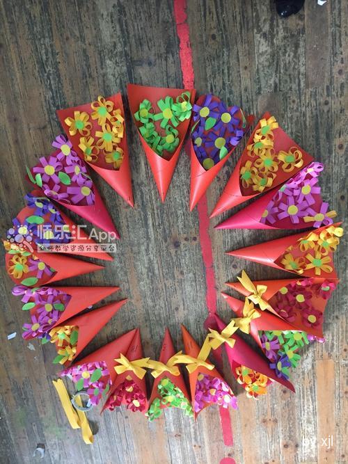 三八妇女节音乐_这是三八妇女节的时候送给妈妈的礼物,小花是孩子们自己粘的 ...