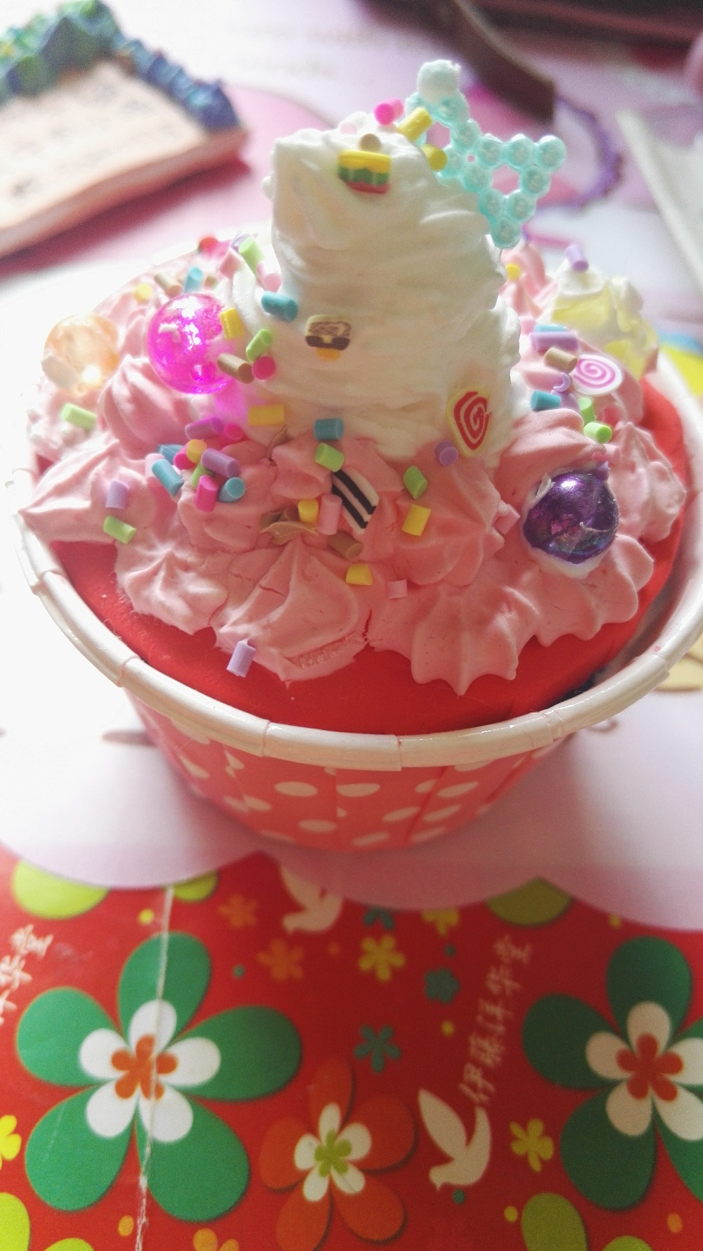 爱做粘土,蛋糕的宝宝,喜欢的关注我!