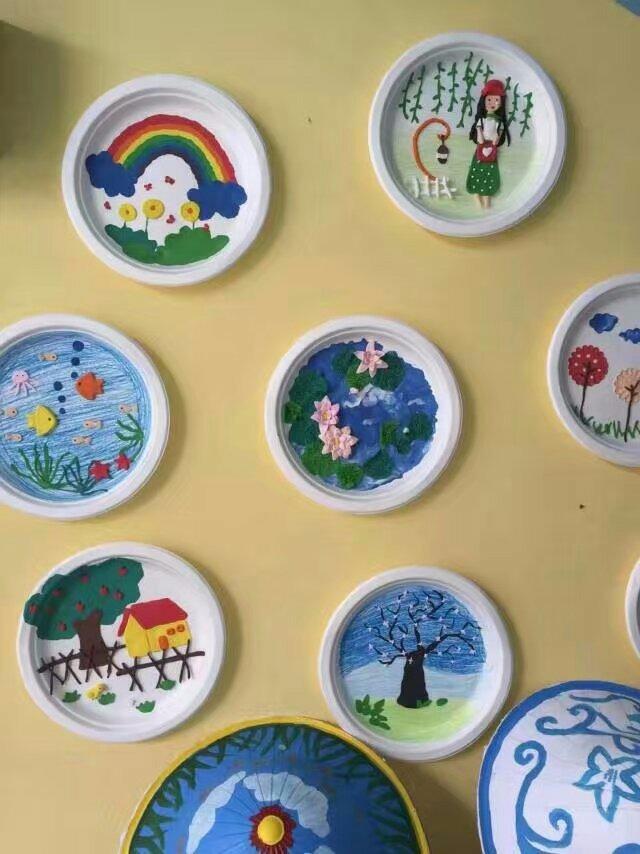蛋糕盘的多种制作
