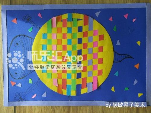 幼儿园卡纸中国结_卡纸彩条编织——小乌龟——幼儿教师网_师乐汇