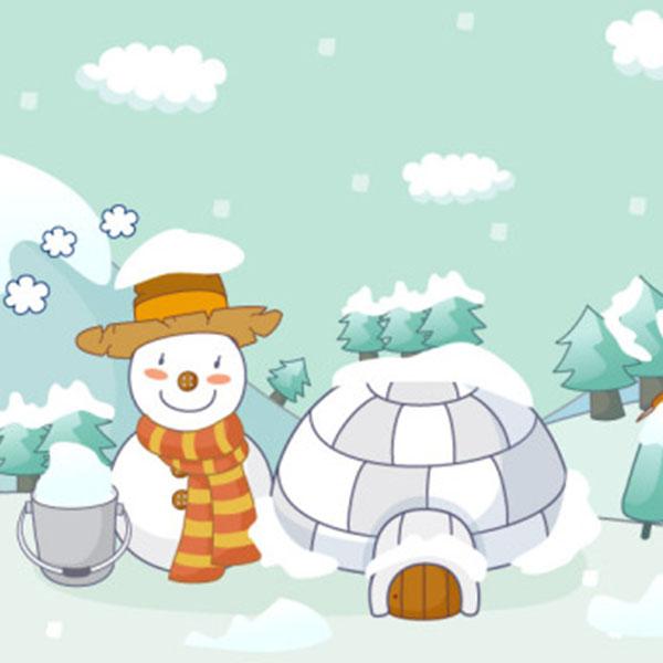 幼儿园冬季环境环创