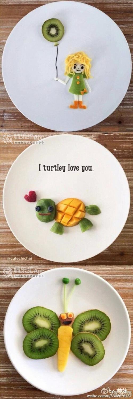 这样的水果拼盘,你让