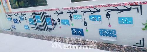 冬天环境作品墙