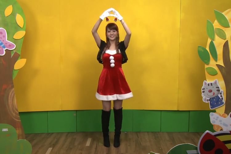 圣诞节律动舞蹈:圣诞节快乐