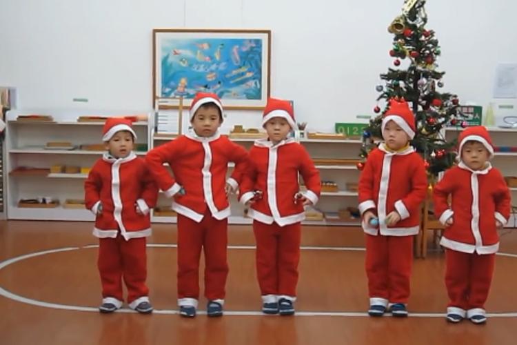 圣誕節舞蹈:叮叮當