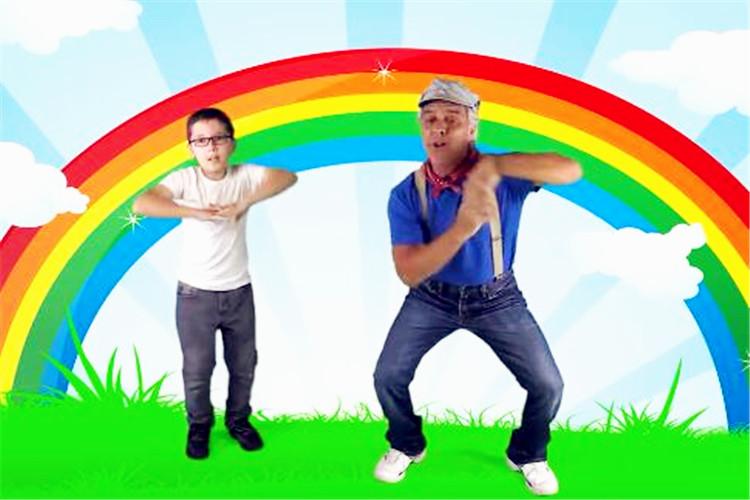 幼儿园中班瑜伽教学:让人放松的欢快歌舞