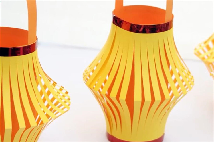 手工diy:如何制作一個彩色燈籠