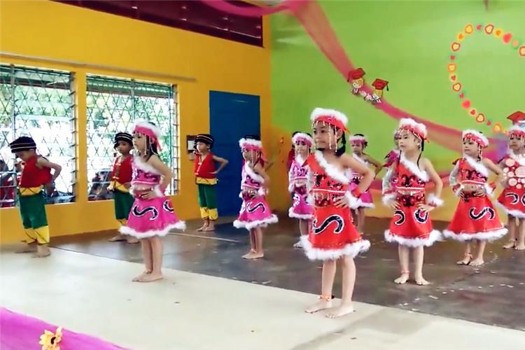 民族舞蹈视频:高山青