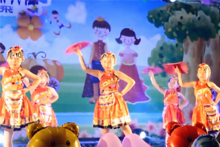 幼儿园毕业典礼舞蹈:最炫民族风