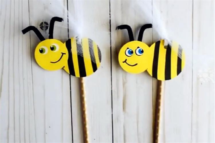 手工DIY:教你制作可愛的小蜜蜂木偶