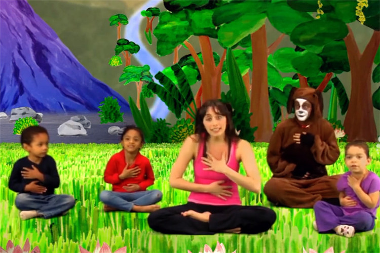 幼兒園瑜伽:史上動作最簡單的瑜伽