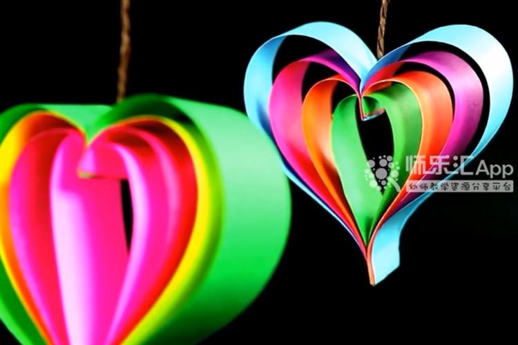 手工DIY:如何快速制作一個心形吊飾