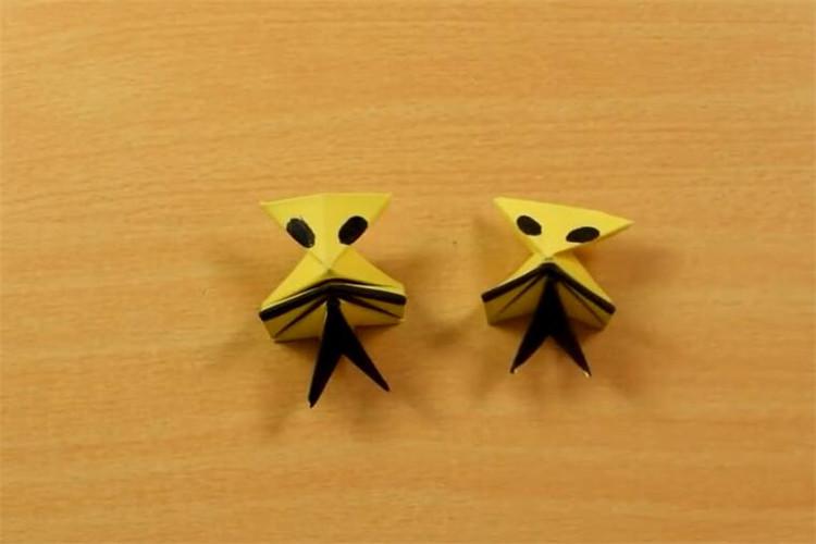紙制品手工:教你制作一個會跳的小怪獸