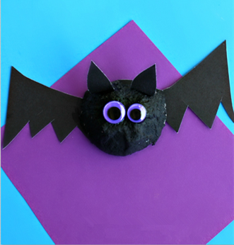 鸡蛋托手工蝙蝠