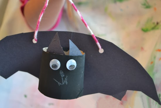 卷纸芯小蝙蝠