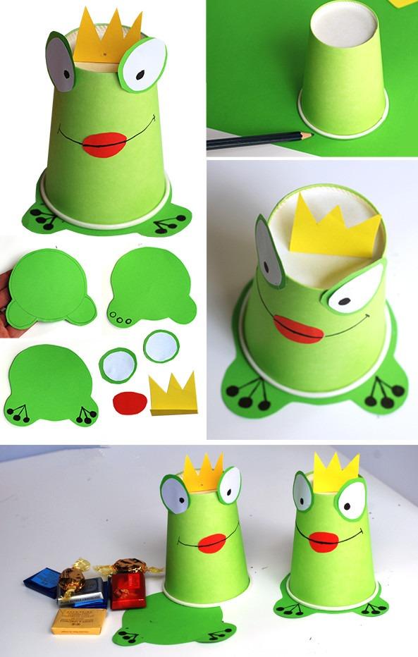 手工小青蛙