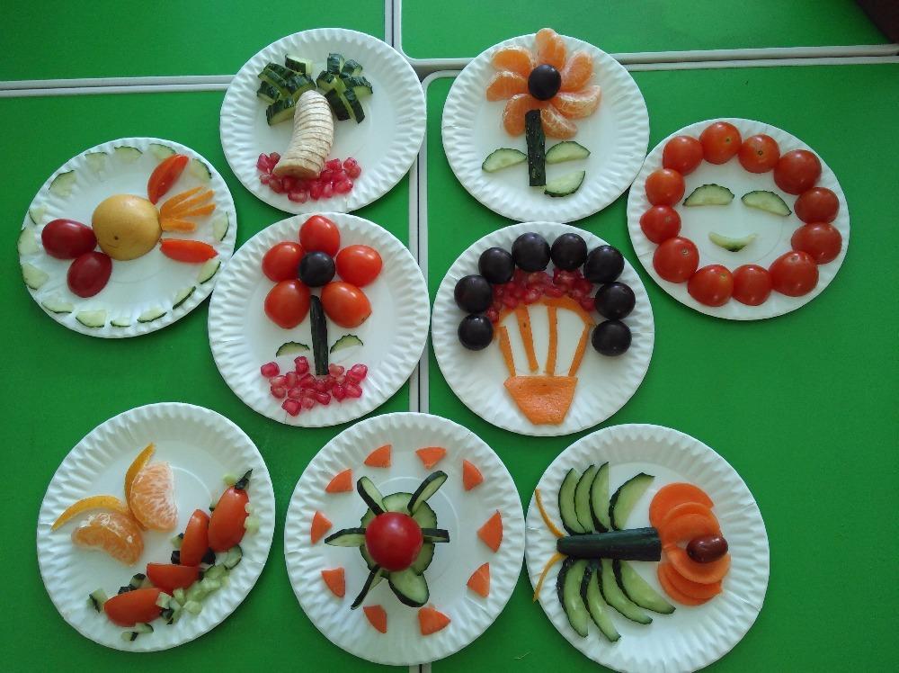 幼儿水果拼盘!