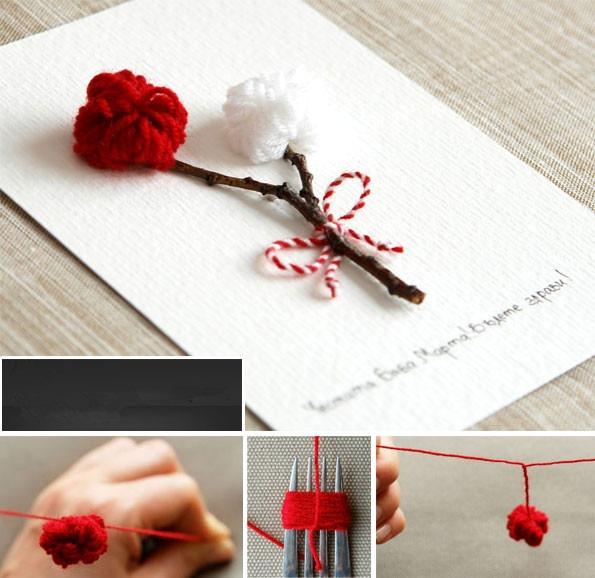 立体鲜花卡片