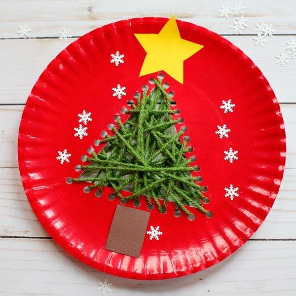 圣诞树手工