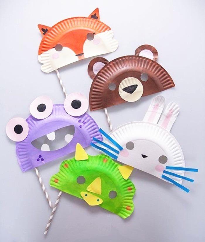 纸盘小动物