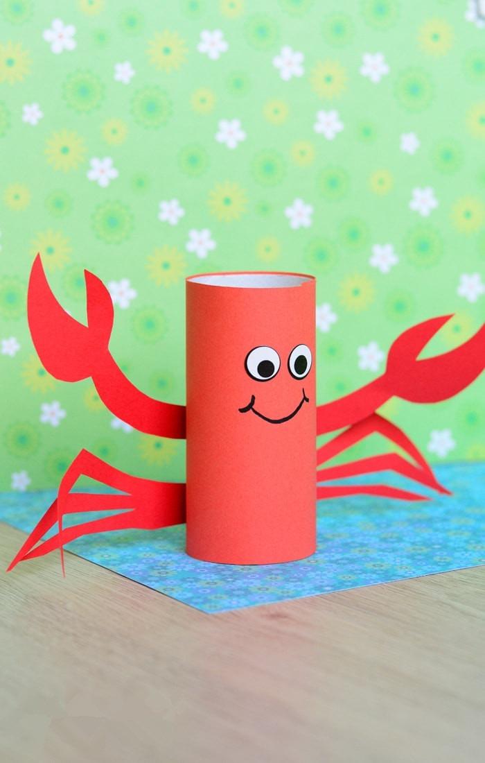 卷纸芯小螃蟹