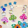 幼儿园生活环境布置:五个好宝宝
